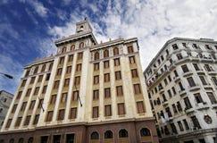 bacardi大厦古巴著名哈瓦那 免版税库存照片
