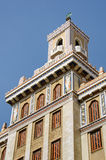 Здание Bacardi в Гаване, Кубе Стоковое Изображение RF