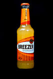 Bacardi breezer orange bottle Stock Photo