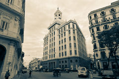 Bacardi building, Havana, Cuba Royalty Free Stock Images