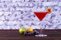 Bacardi-Cocktail lizenzfreies stockbild