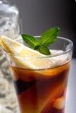 Bacardi com cocktail da coca-cola Fotografia de Stock Royalty Free