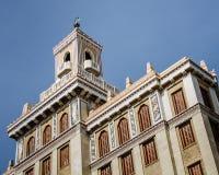 Bacardi die Havana, Cuba inbouwen Stock Foto