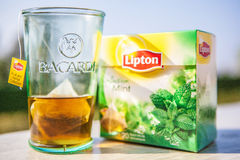 Bacardi feat Lipton Stock Images