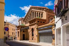 Bacardi house in Sitges. Royalty Free Stock Image