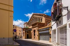 Bacardi house in Sitges. Royalty Free Stock Images