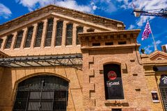 Bacardi house in Sitges. Stock Photo