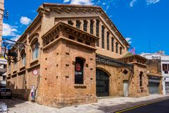 Bacardi house in Sitges. Stock Image