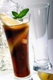 Bacardi met de cocktail van de Coca-cola Stock Afbeelding