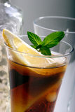 Bacardi mit Coca Colacocktail Stockfotos