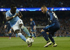 Bacary Sagna and Jese Royalty Free Stock Images