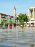 Bacau city center Royalty Free Stock Photos