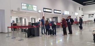 Bacau-Flughafen Stockbild