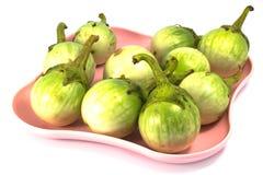 Bacca della blatta o melanzana verde  Fotografia Stock