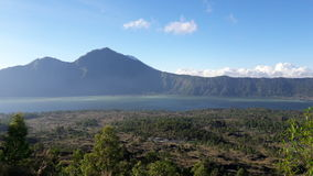 Bacca di Batur immagini stock libere da diritti
