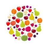 Bacca e frutta illustrazione di stock