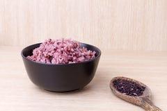 Bacca mista cucinata del riso del riso del gelsomino Fotografia Stock Libera da Diritti
