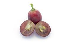 Bacca porpora dell'uva Fotografia Stock