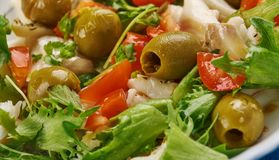 Baccala Salad Stock Photos