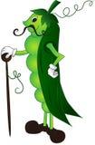 Baccello di pisello del fumetto Royalty Illustrazione gratis