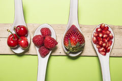 Bacche dell'antiossidante di Bodegon immagini stock libere da diritti