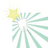 Bacchetta del fatato di dente Fotografie Stock Libere da Diritti