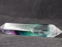 Bacchetta della fluorite dell'arcobaleno immagini stock libere da diritti