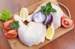 Bacchetta di pollo Immagine Stock