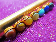Bacchetta di rame di Chakra Immagini Stock
