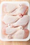 Bacchette di pollo crude Immagine Stock Libera da Diritti