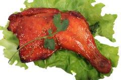 Bacchette di pollo fritto fotografia stock