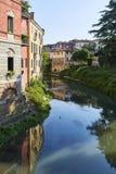 Bacchiglione, Vicenza Fotografie Stock Libere da Diritti