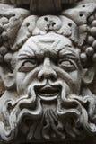 Bacchus eller Dionysus, sniden stående arkivfoton