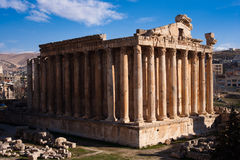 Bacchus Temple stock image