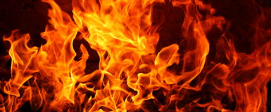 Bacgroud огня Стоковые Изображения RF
