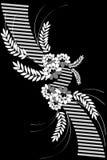 bacground флористическое Стоковые Фотографии RF