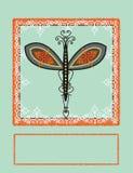 Bacground, cartão Ilustração Royalty Free