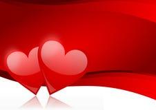 Bacground de las tarjetas del día de San Valentín Imagen de archivo