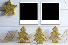 Bacground de Noël avec un espace pour le texte Photographie stock libre de droits