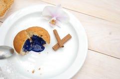 Bacground de petit gâteau Photo stock