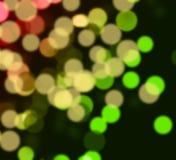 Bacground met kleur bokeh. Stock Afbeeldingen