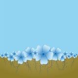 Bacground mit Blumen Stockfoto