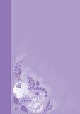 bacgroundgruppen blommar purple Fotografering för Bildbyråer