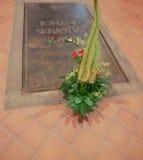 Bach grave Stock Photos