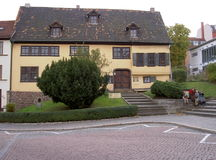 Bach House in Eisenach Royalty Free Stock Photos