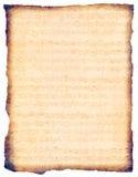 Bach su pergamena antica Immagine Stock Libera da Diritti
