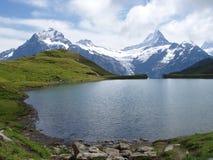 Bachalpsee die Schweiz Stockfoto