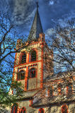 Bacharach church Royalty Free Stock Photos