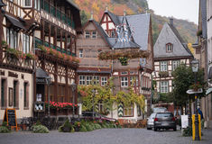 Bacharach downtown Royalty Free Stock Images