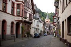 Bacharach Germania Fotografia Stock